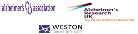 Alzheimer's Association, Alzheimer's Research UK and the Weston Brain Institute