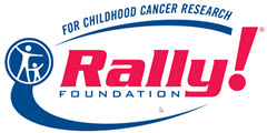 Logo of Rally Foundation for Childhood Cancer Research